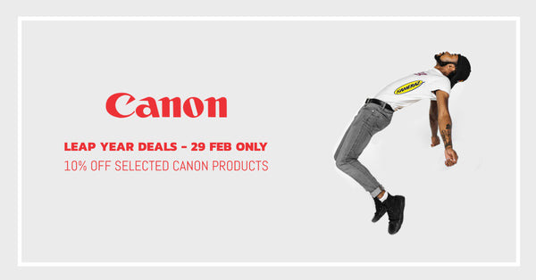 Leap Year - 10% Off Canon Deals