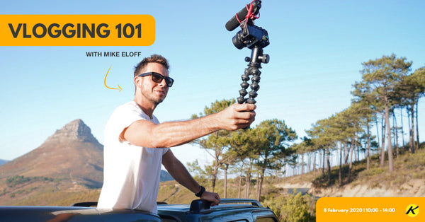 Vlogging 101 with Mike Eloff & Sony