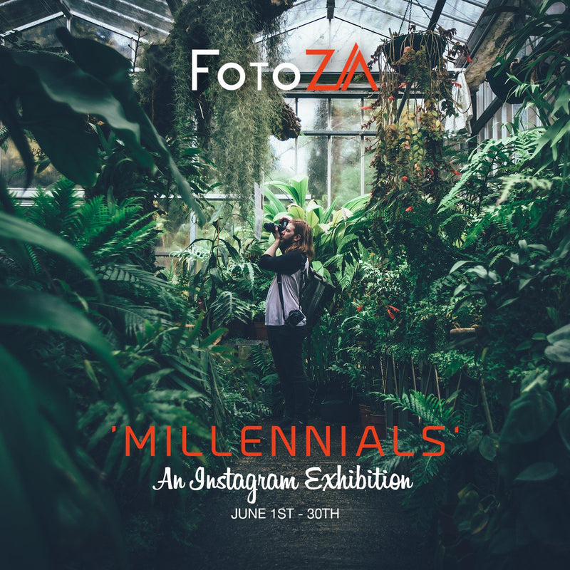 MILLENNIALS – An Instagram Exhibition by FotoZA
