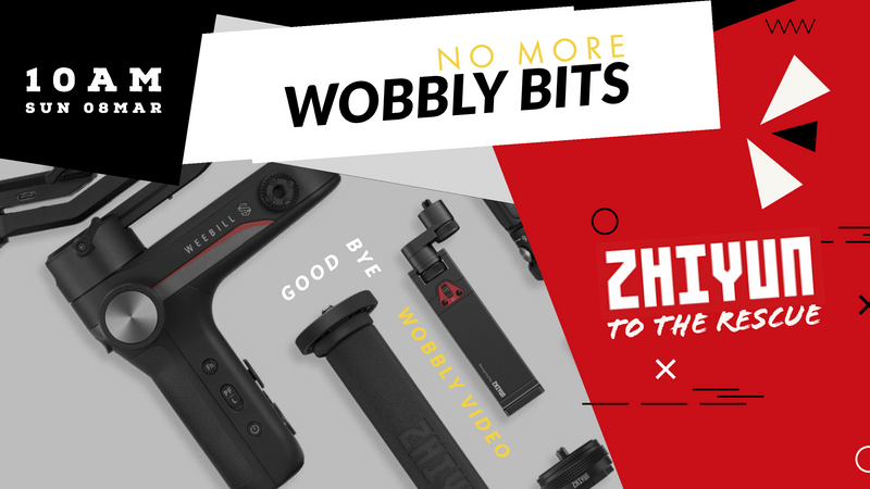 No More Wobbly Bits With Zhiyun