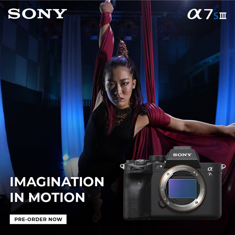 Meet the all new Sony A7S III Mirrorless Camera