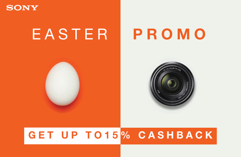 Sony Easter Promo - April 2020
