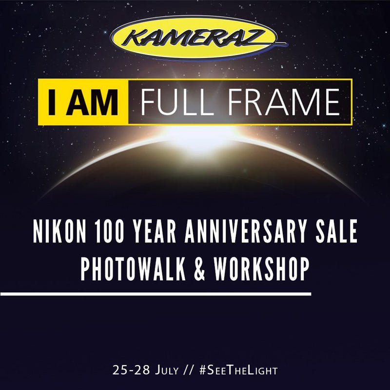 Nikon 100 Year Anniversary - Specials, Photowalk and Workshop