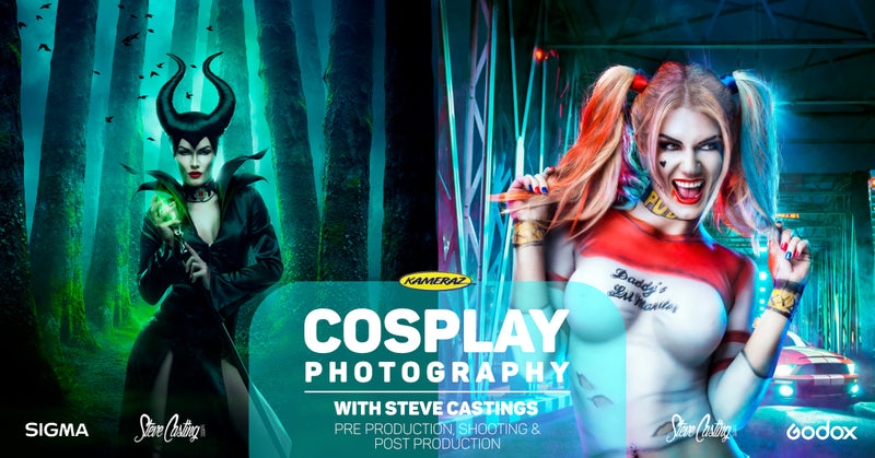 Cosplay Photography with Steve Castings