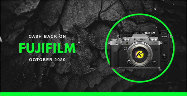 Fujifilm Cash Backs | October 2020 | KAMERAZ