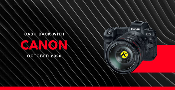 KAMERAZ Canon Cash Back Promotion (Oct - Dec 2020)