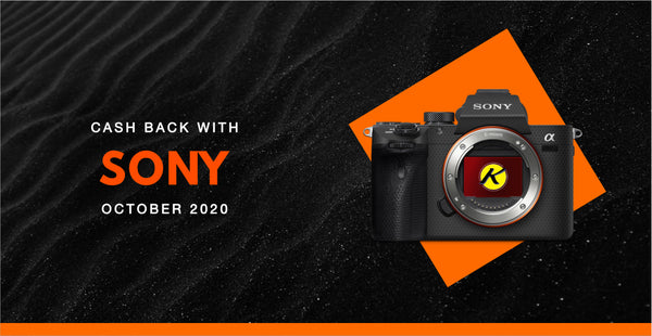 Sony Cash Back Promotion | October 2020 | KAMERAZ