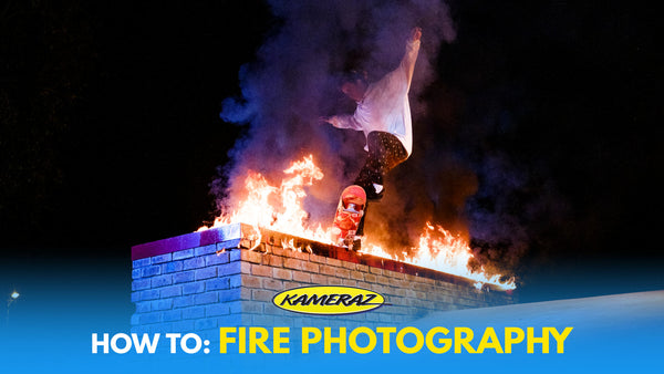 BTS Skateboarding Photography with FIRE with Tim Moolman