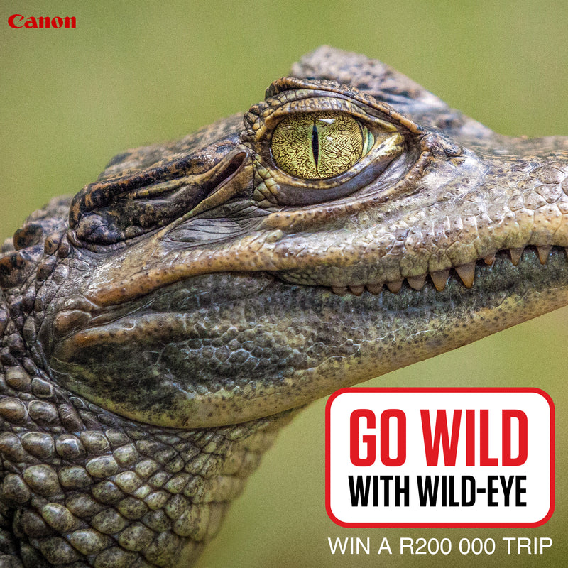 Go Wild with WildEye and Canon SA