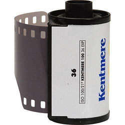 Kentmere 100 ASA Black and White Negative Film (35mm Roll Film, 36 Exposures) - Kentmere - KAMERAZ