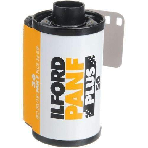 Ilford Pan F Plus Black and White Negative Film (35mm Roll Film, 36 Exposures) - Ilford - KAMERAZ (11436900743)