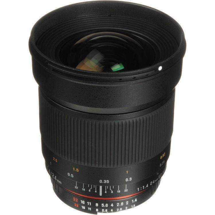 Samyang 24mm F1.4 ED AS IF UMC (Canon) - Samyang - KAMERAZ (11426801287)