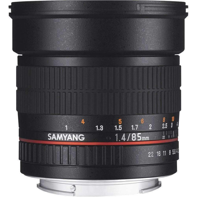Samyang 85mm F1.4 ED AS IF UMC Lens with AE Chip (Nikon) - Samyang - KAMERAZ (11426915655)