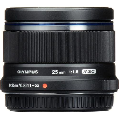 Olympus M.Zuiko Digital 25mm f/1.8 Lens (Black) (576563183648)