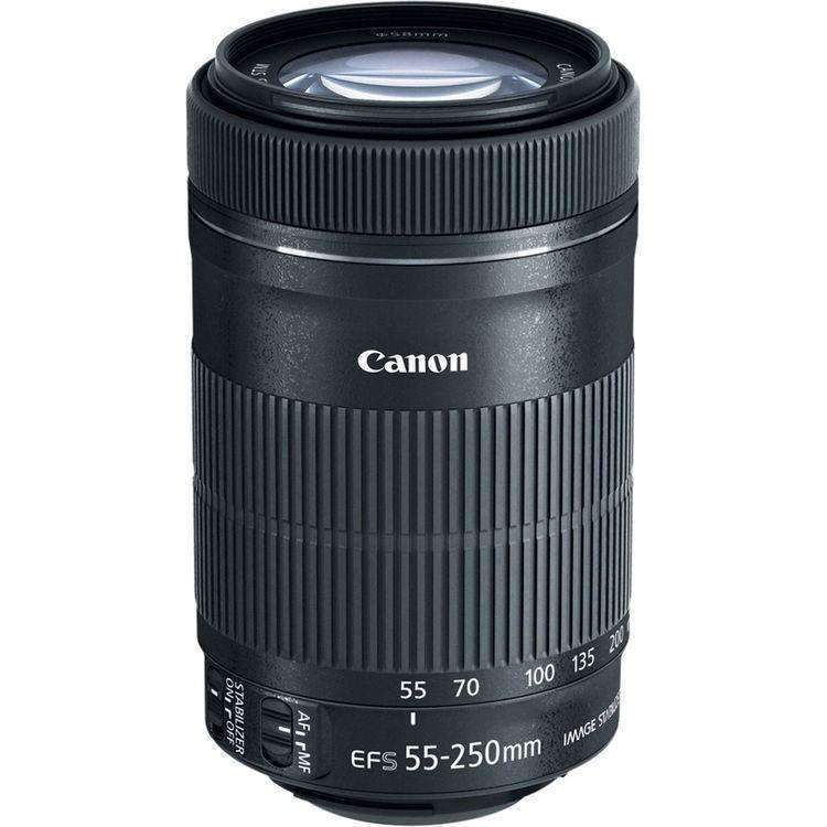 Canon EF-S 55-250mm f/4-5.6 IS STM Lens - Canon - KAMERAZ (11109827783)
