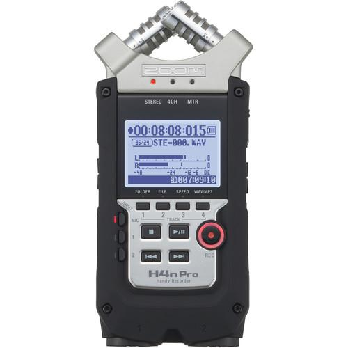 Zoom H4n Pro 4-Channel Handy Recorder - Zoom - KAMERAZ (527022981152)