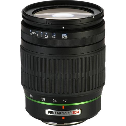 Pentax SMCP-DA 17-70mm f/4 AL (IF) SDM Autofocus Lens for Digital SLR (744171864163)
