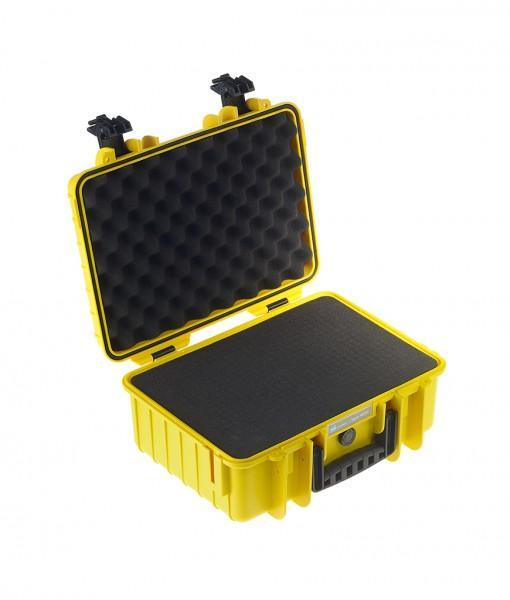 B&W International Type 4000 Hard Case (Yellow) Foam Insert (613447794720)