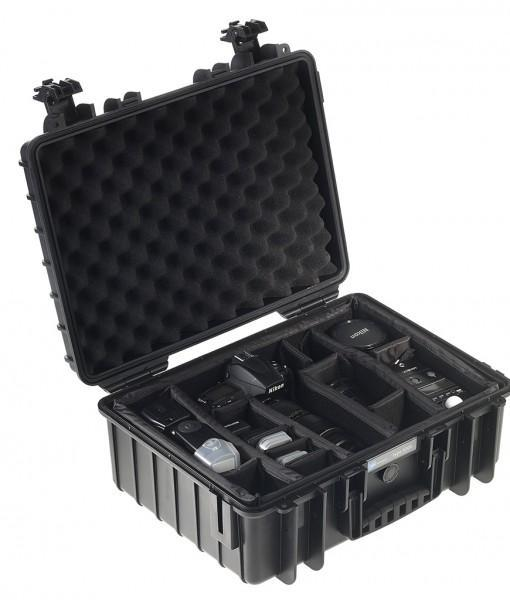 B&W International Type 5000 Hard Case (Black) Padded Insert (613425774624)