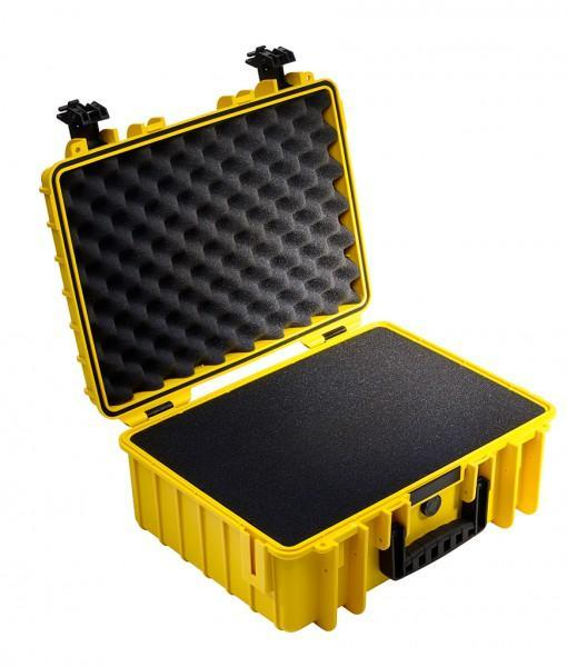 B&W International Type 5000 Hard Case (Yellow) Foam Insert (613428559904)