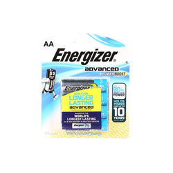 Energizer Advanced Alkaline AA Batteries 4+2 Pack - Energizer - KAMERAZ