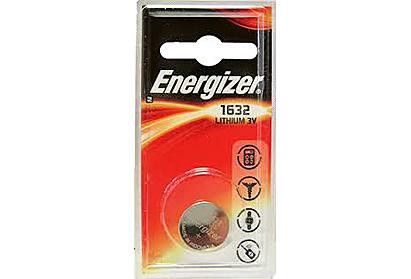 Energizer CR1632 3v Lithium Coin Battery (750389952611)