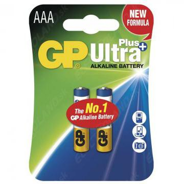 GP Ultra Plus AAA Battery (2 Pack) (754515083363)