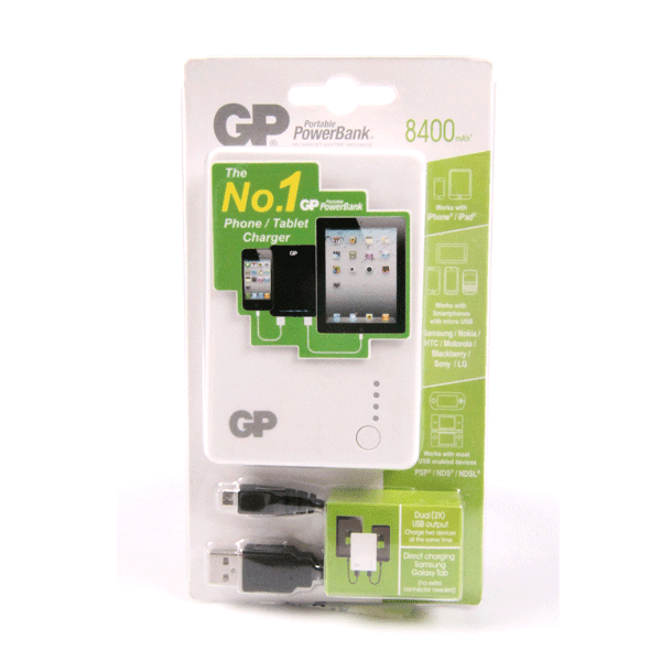 GP Portable Powerbank X382 8400mah (754372018275)