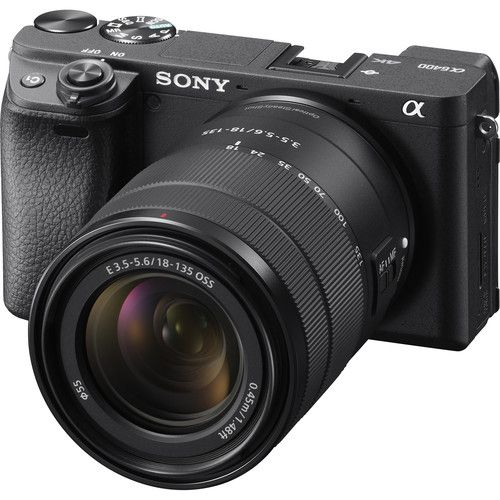 Sony Alpha a6400 Mirrorless Digital Camera with 18-135mm Lens (1515620958307)