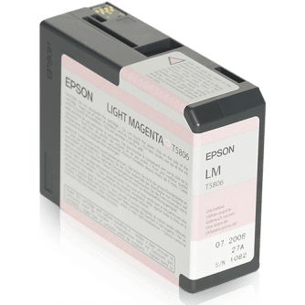 Epson T5806 Light Magenta Ink Cartridge (754551390307)