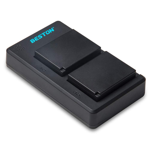 Beston NP-W126 2x Battery pack with charger for Fujifilm (3577061507171)