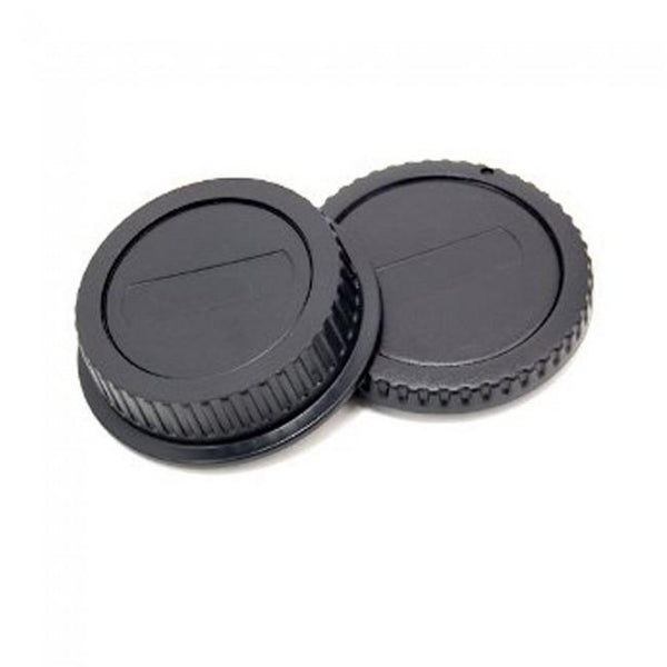 JJC Body Cap and Rear Lens Cap (Nikon F-Mount) (L-R2) - JJC - KAMERAZ (462204829728)