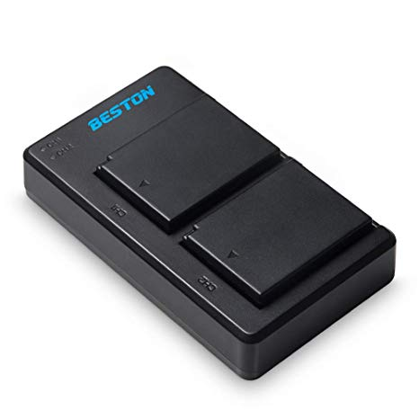 Beston LP-E10 2x Battery pack with charger for Canon (3576937054307)