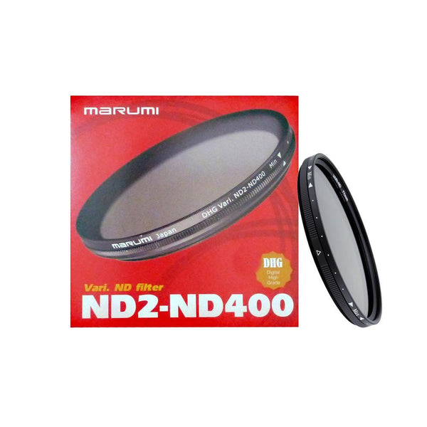 Marumi 62mm DHG Variable ND2-ND400 FILTER (786546917475)
