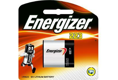 Energizer 223 6v Photo Lithium Battery (754425659491)