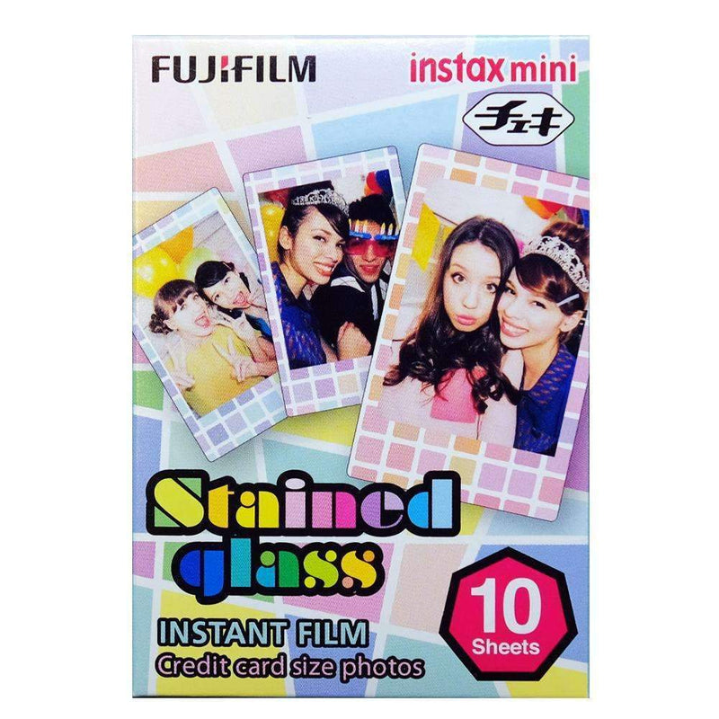 Fujifilm Instax Mini Film Stained Glass - Fujifilm - KAMERAZ (11235181703)