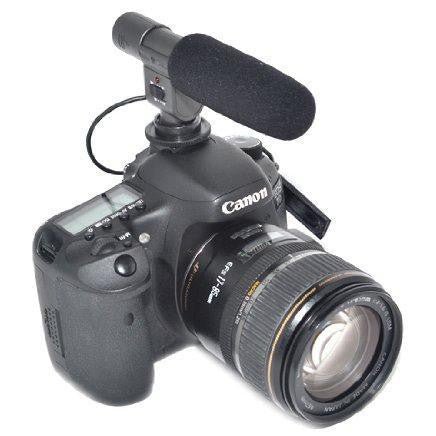 JJC SGM-185 DSLR/Video Mini Shotgun Microphone (754399346787)