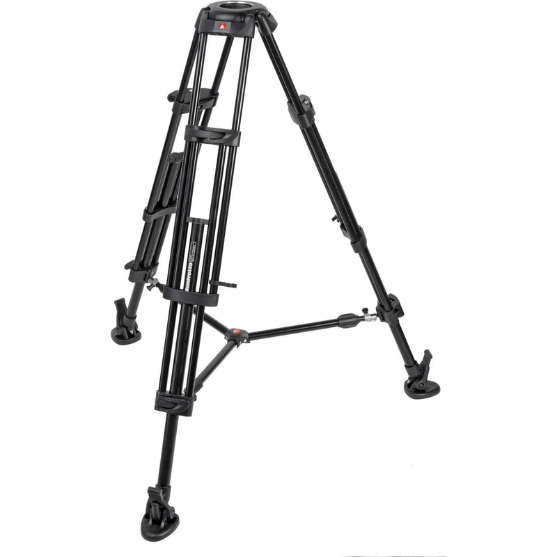 Manfrotto 546B Pro Video Tripod + MVH 502AHead + Bag (4435143815)