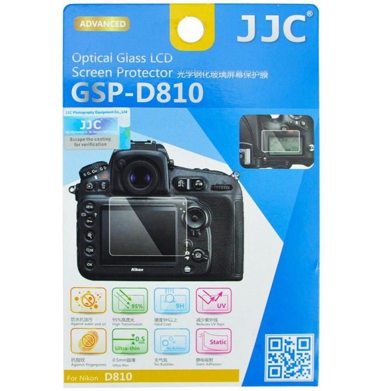 JJC Optical Glass Screen Protector for Nikon D810 (754401083491)
