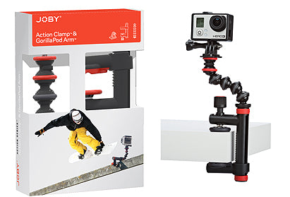 Joby Action Clamp with GorillaPod Arm (1442267562083)