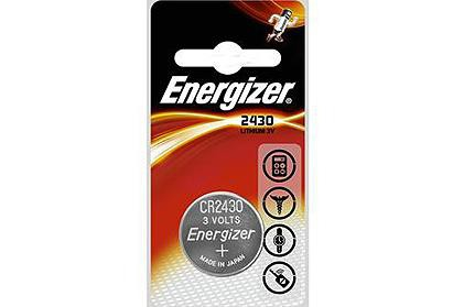Energizer CR2430 3v Lithium Coin Battery (750390640739)