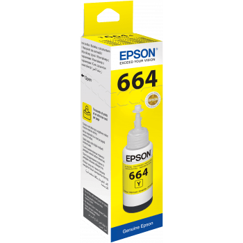 Epson T6644 Yellow ink bottle 70ml (754356289635)