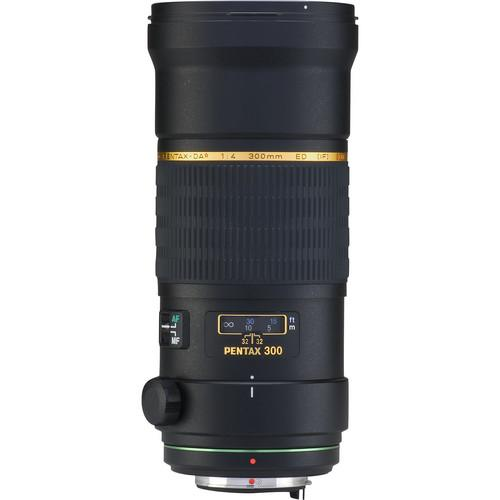 Pentax SMCP-DA* 300mm f/4 ED (IF) SDM Autofocus Lens for Digital SLR (745855778915)