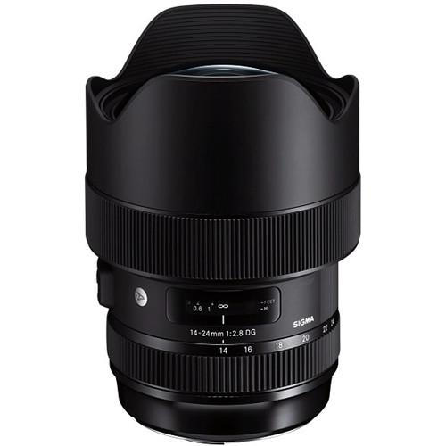 Sigma 14-24mm f/2.8 DG HSM Art Lens for Nikon F (756799078499)