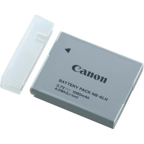 Canon NB-6LH Lithium-Ion Battery Pack (3.7V, 1,060mAh) (772298047587)