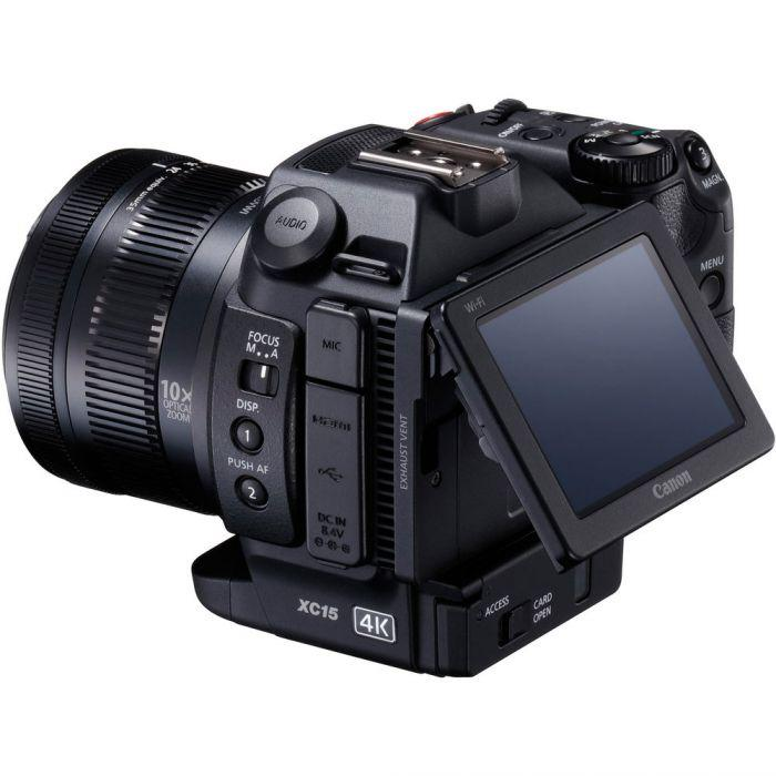 Canon XC15 4K Professional Camcorder (Pal) R2500 CASH BACK (751308865635)