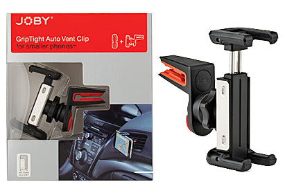 Joby GripTight Auto Vent Clip – Regular (1442265202787)