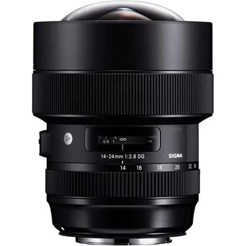 Sigma 14-24mm f/2.8 DG HSM Art Lens for Canon EF (756798685283)