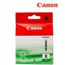 Canon CLI-8 Green Ink Cartridge (756837843043)