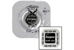 Energizer 392/384 Silver Oxide Watch Battery